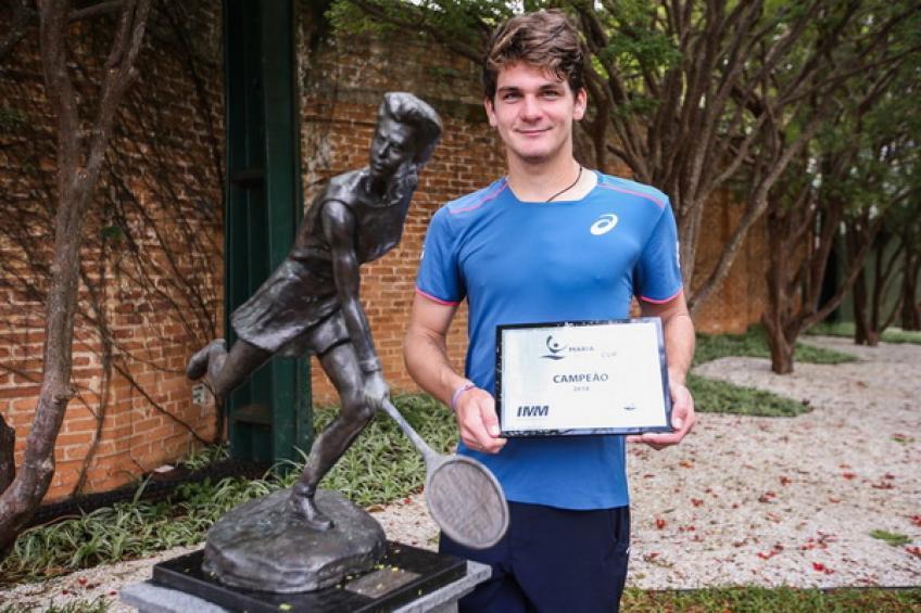 Thiago Wild, 18 ans, remporte la Coupe Maria Esther Bueno et Rio Joker ouvert