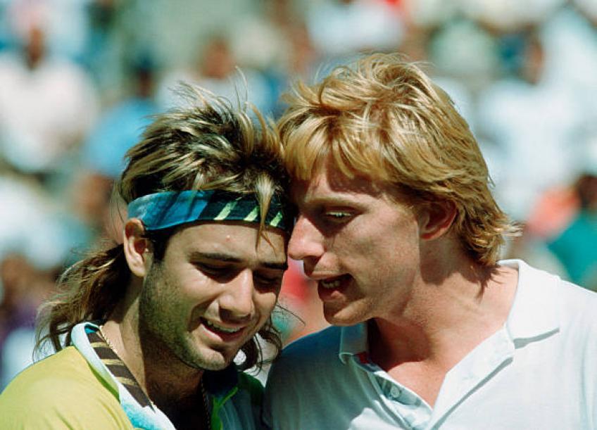 Andre Agassi: 'J'ai eu mon pire moment en Coupe Davis avec Boris Becker '