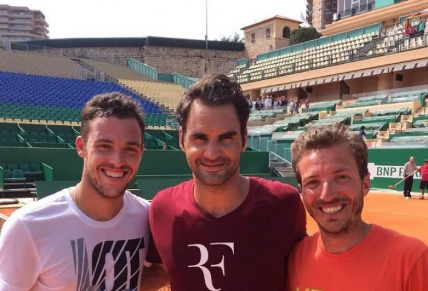 Roger Federer m'impressionne plus que Nadal et Djokovic, dit Cecchinato