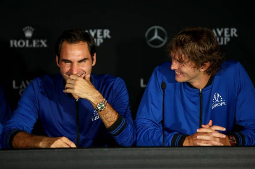 Alexander Zverev: Roger Federer est plus âgé, il est différent règles