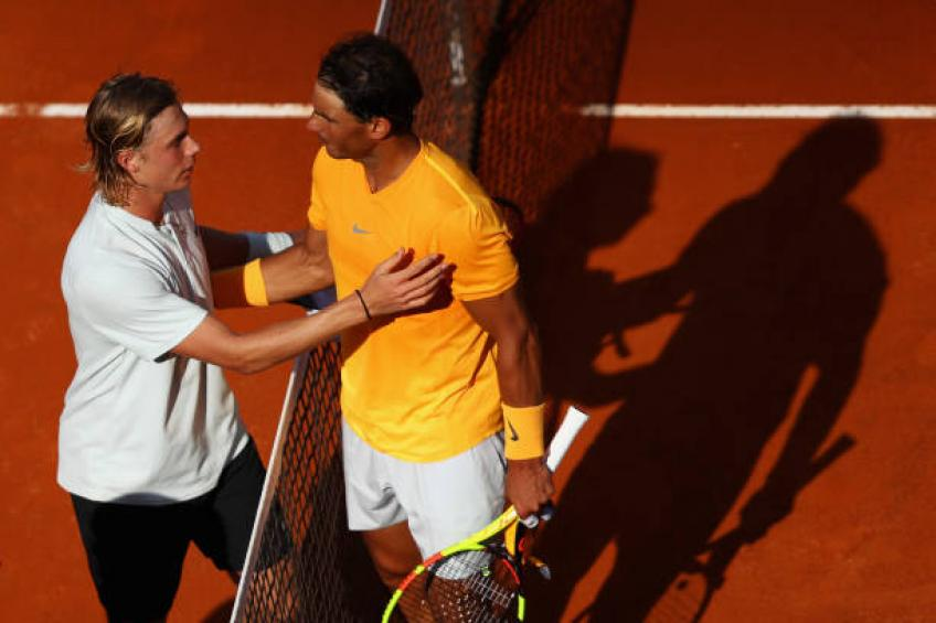 Shapovalov appelle à une saison plus courte, rend Rafael Nadal, Exemples wawrinka
