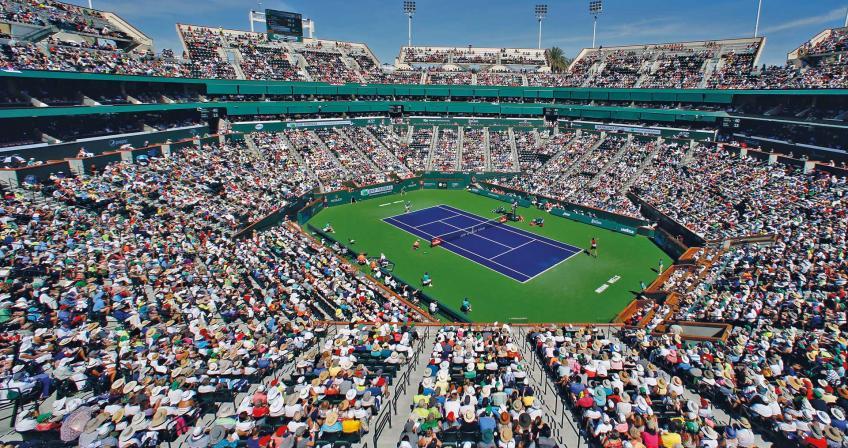 Indian Wells parmi les maîtres préférés des joueurs de l'ATP 1000