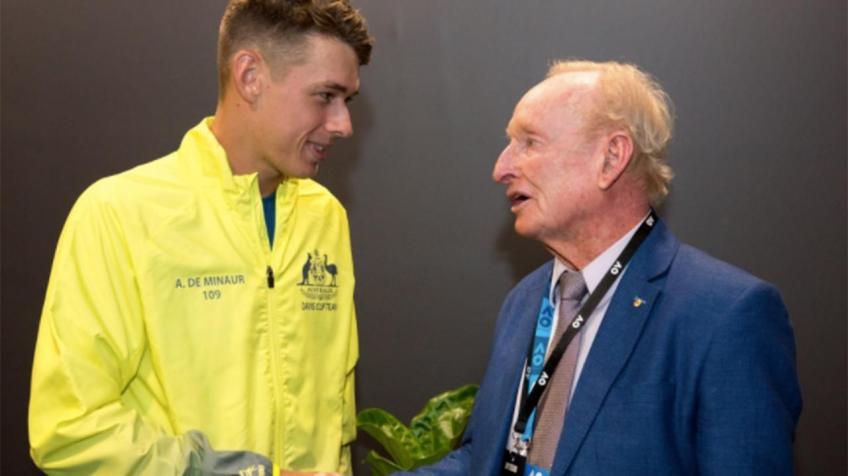 Rod Laver sur Alex de Minaur: Quel cadeau pour l'Australien tennis