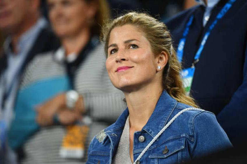 Mirka Federer est comme une super-femme, dit Matthew Ebden femme