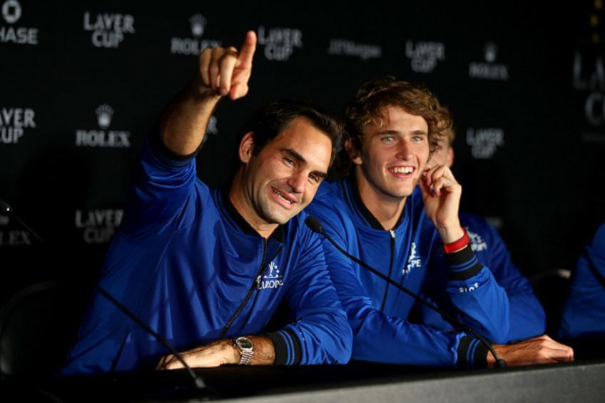 Alexander Zverev se souvient d'une conversation privée avec Roger Federer