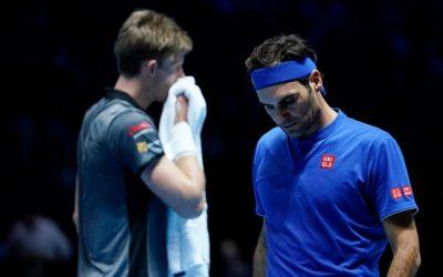 Kevin Anderson révèle les regrets sur les pertes subies par Roger Federer, Novak Djokovic