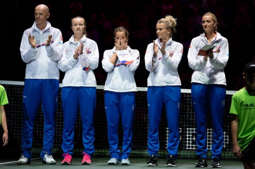 Fed Cup: Barbora Strycova et Katerina Siniakova déplacent les Tchèques devant