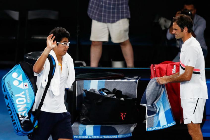 Hyeon Chung effectue un entraînement intense en Thaïlande avant le début 2019