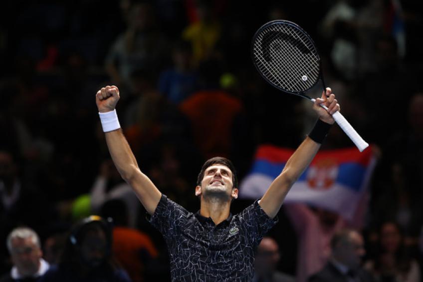Novak Djokovic rejoint Roger Federer et Rafael Nadal dans un énorme liste de classement