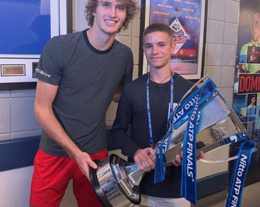 Zverev honoré de rencontrer David Beckham et son fils Roméo: «C'était agréable'