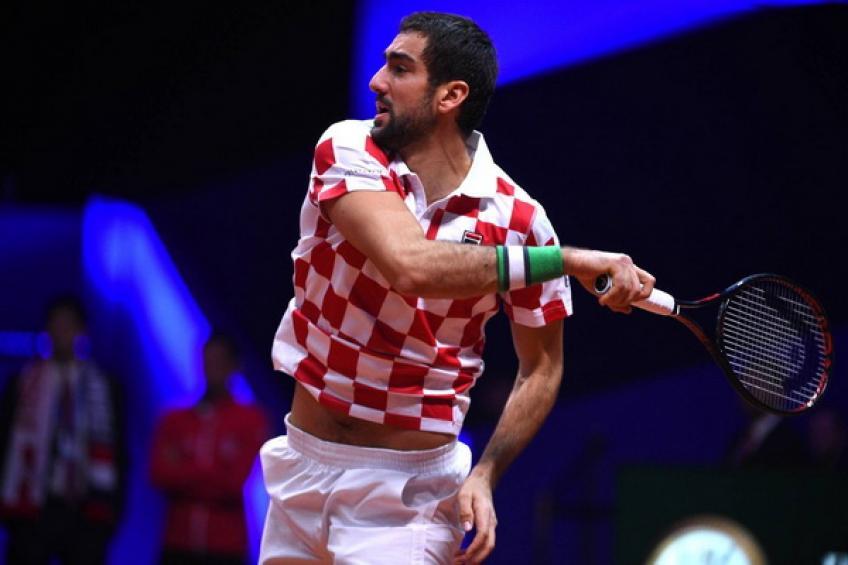 Coupe Davis: l'inspiration de Marin Cilic rapproche la Croatie de titre historique