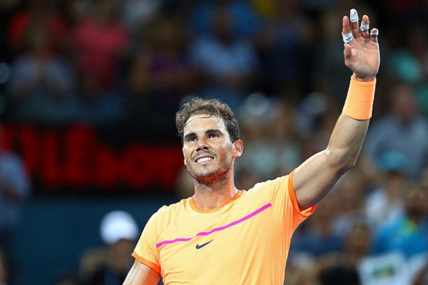 Rafael Nadal et Andy Murray titillent la superbe 2019 de Brisbane champ