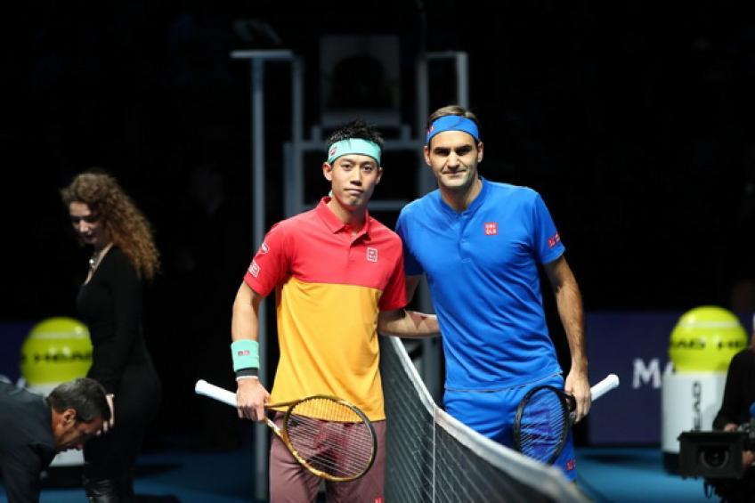 Finale ATP: Kei Nishikori choisit Roger Federer pour faire le début gagnant