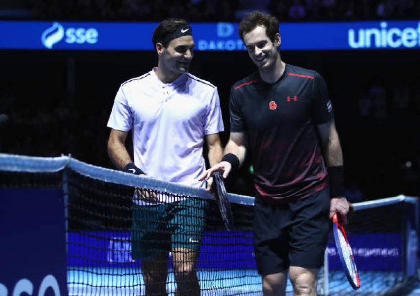 """""""Murray doit être inspiré par Roger Federer, Nadal, Djokovic '- McEnroe"""