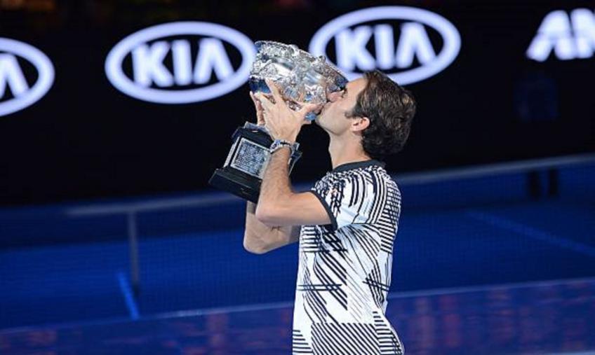 Roger Federer a joué le meilleur tennis de tous les temps à l'Australien 2017 Ouvrez, dit Gilbert