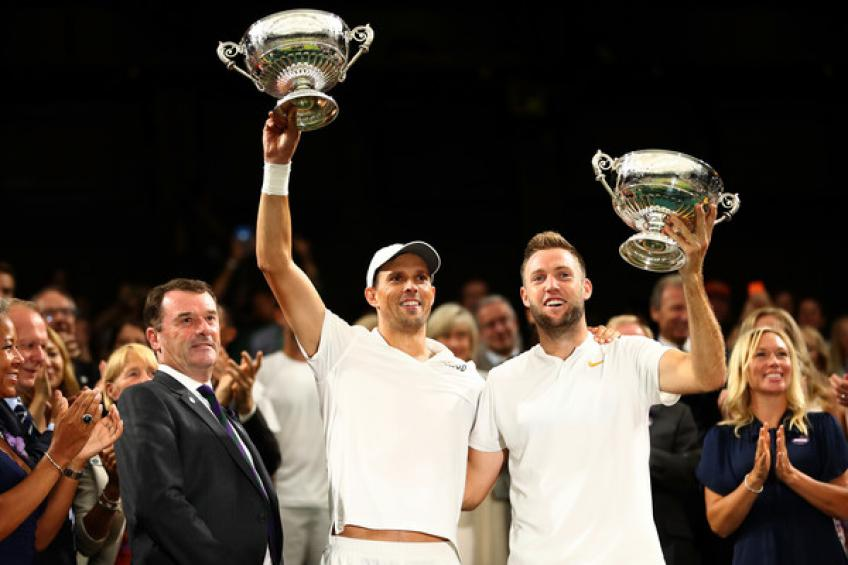 Mike Bryan et Jack Sock nommés en double masculin ITF World Champions