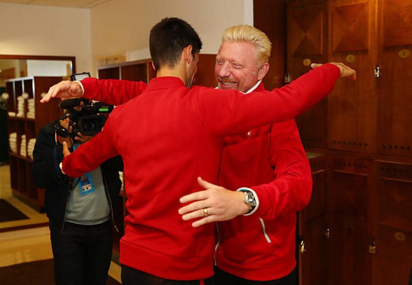 Le ministre félicite Becker: 'Avec Novak Djokovic, il a réussi grand succès'