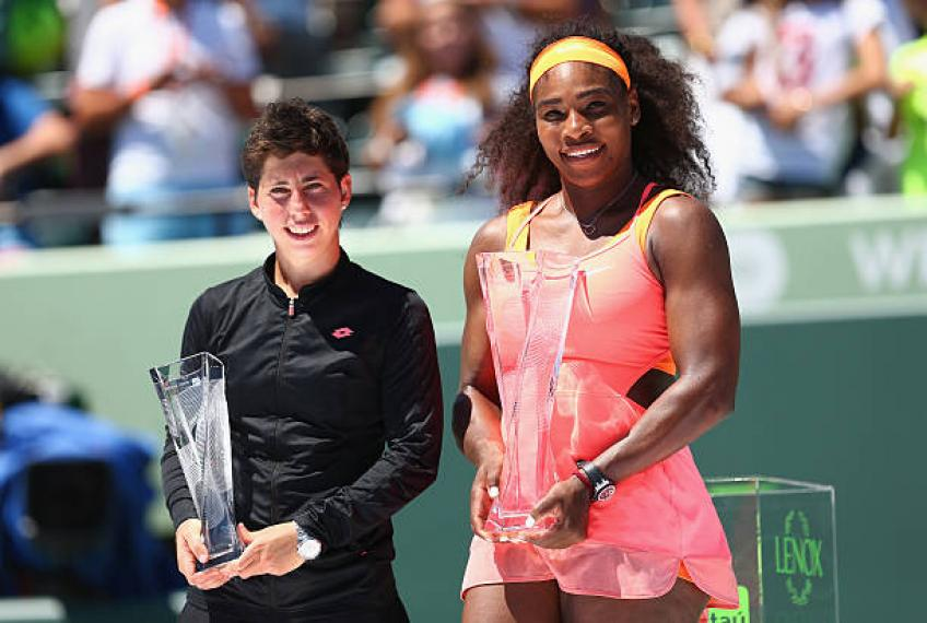 Carla Suarez Navarro révèle le plus gros match de Serena Williams arme
