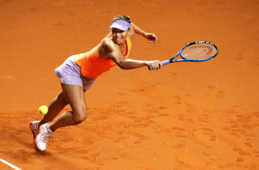 Révélé: le premier tournoi sur terre battue de Maria Sharapova en 2019