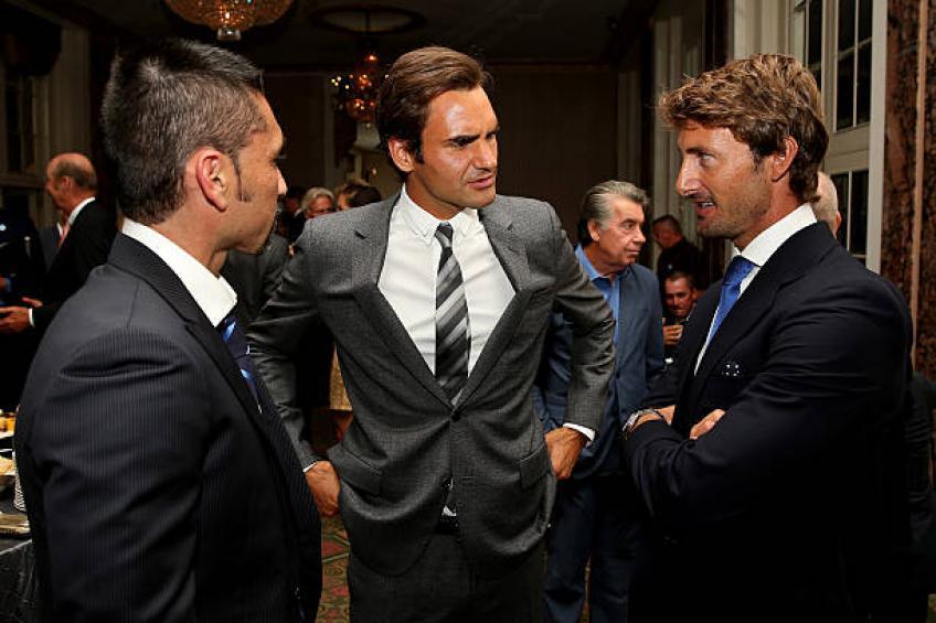 """Marcelo Rios reconnaissant à Roger Federer: """"Il est le meilleur déjà'"""