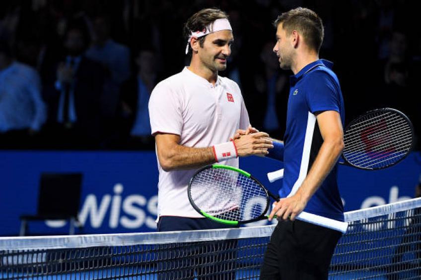 Filip Krajinovic: Roger Federer faisait pression arbitre à Bâle