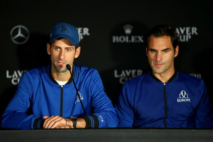 Roger Federer, Rafa Nadal et Novak Djokovic en tête du groupe des aînés top-3 classement