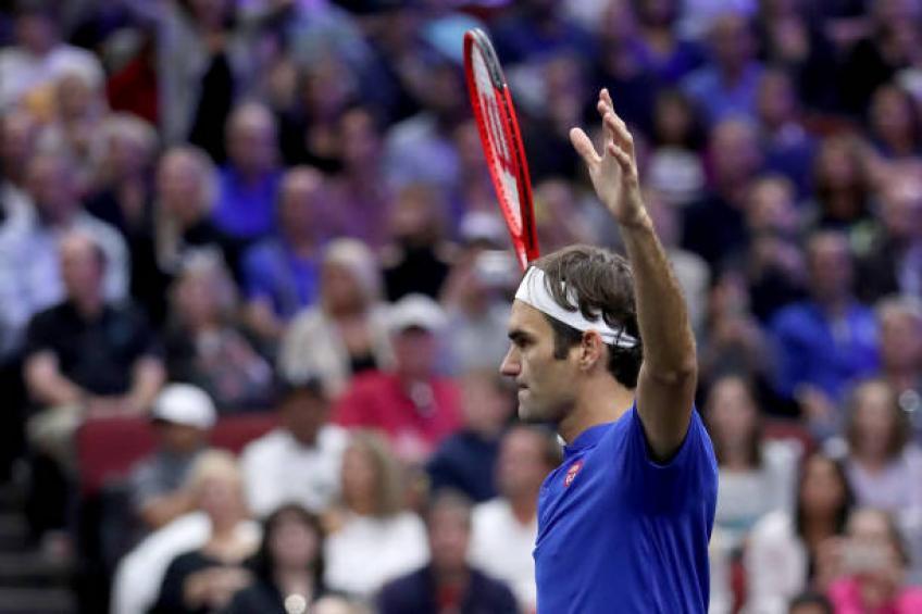 Federer: Je n'aurais jamais pensé que la Laver Cup aurait lieu à La Suisse bientôt