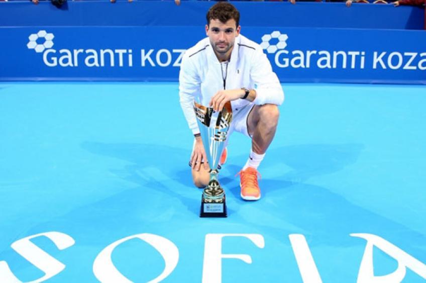 Grigor Dimitrov: 'Sofia Open est un événement privé, pas moi envie de jouer '