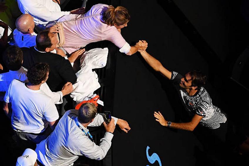 Roger Federer se souvient de moments de plaisir avec sa femme Mirka et des enfants de 2016