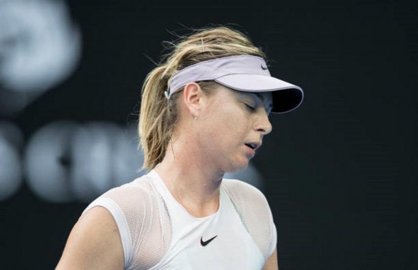 Maria Sharapova: 'Au tennis, vous devez contrôler votre destin'