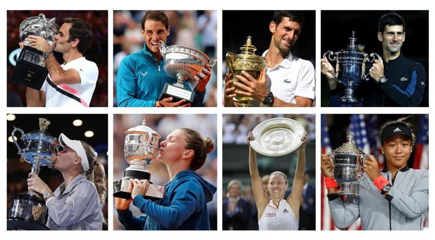 Quel a été le Slam le plus excitant de 2018?
