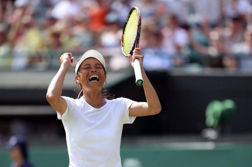 Meilleurs matchs du Grand Chelem WTA 2018: Hsieh choquée Wimbledon