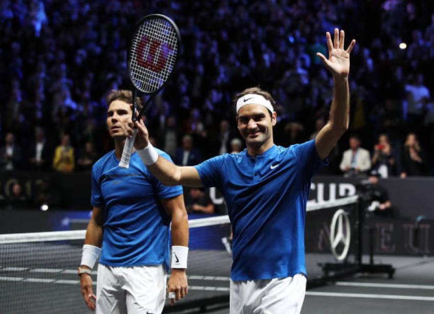 """Roger Federer et Rafael Nadal choisissent le """"meilleur joueur du monde"""" Tour"""