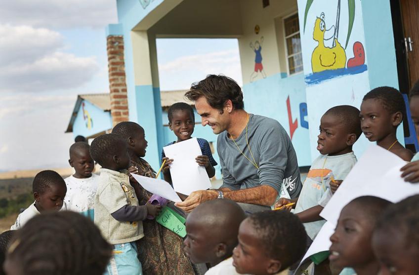 Je déménagerais en Afrique si je le pouvais, dit Roger Federer
