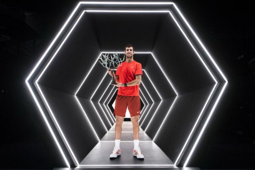 Bilan 2018: Karen Khachanov remporte Paris. Roger Federer règne à Bâle