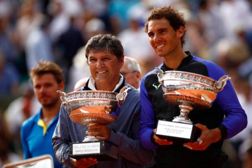 Toni Nadal: 'Je n'ai jamais rêvé que Rafael gagnerait si beaucoup'