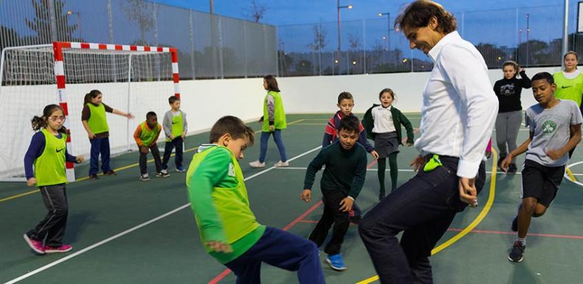 La Fondation Rafa Nadal continuera à bénéficier du code postal néerlandais Fonds de loterie
