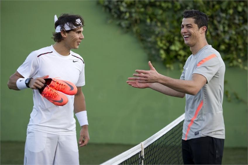 'Rafael Nadal est toujours respectueux, tandis que Ronaldo …' – Ancien joueur