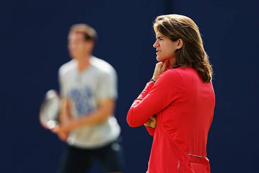 Amelie Mauresmo démissionne comme capitaine de la Coupe Davis pour entraîner Lucas Pouille