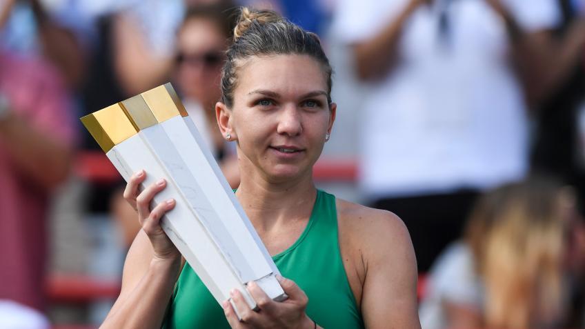 Top 5 matchs WTA en 2018: No.1, Halep remporte le titre Montréal