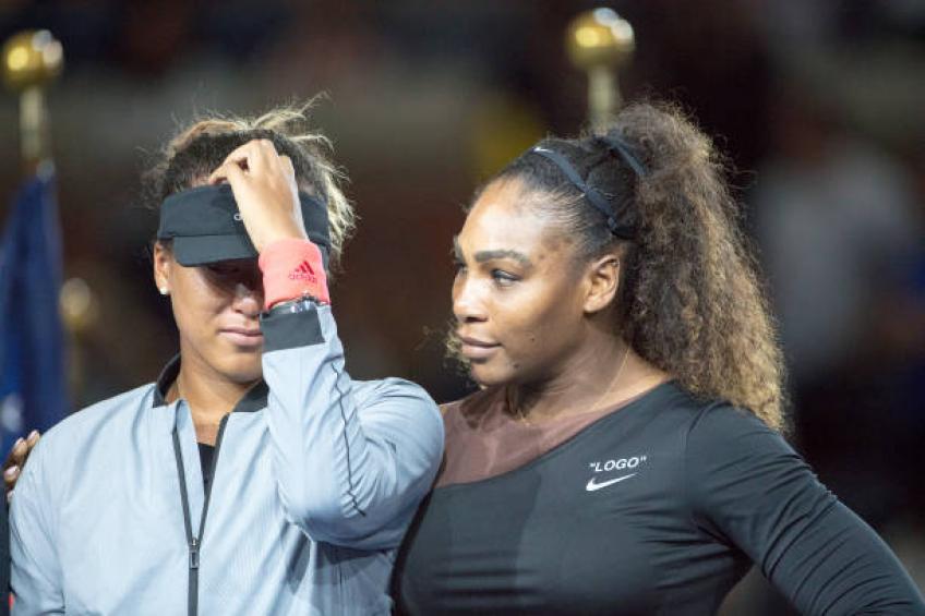 J'ai vu l'explosion de l'US Open de Serena Williams à plusieurs reprises, raconte Naomi Osaka