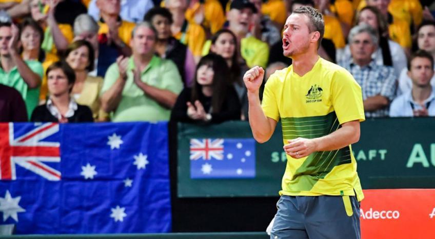 Le capitaine d'équipe Lleyton Hewitt veut diriger l'Australie à Davis Succès en coupe