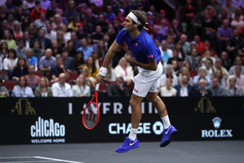 Roger Federer compte 700 semaines dans le Top 3