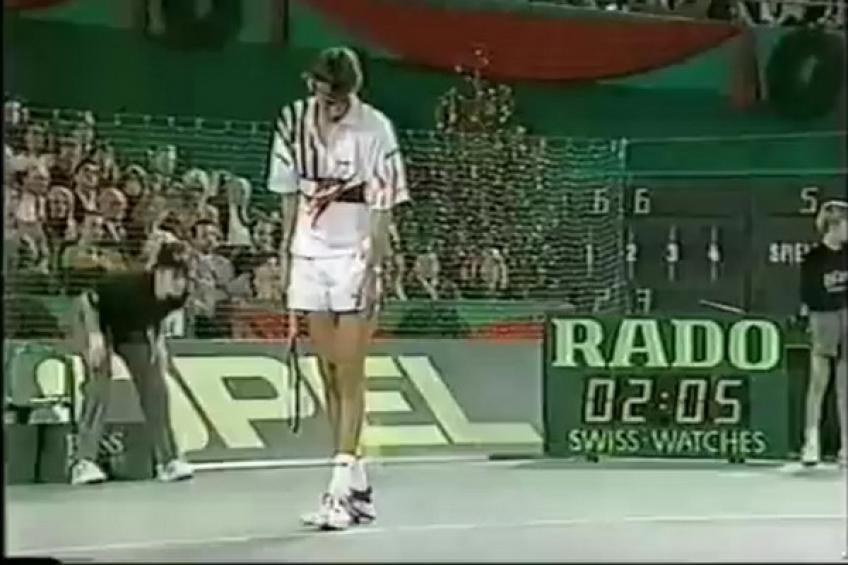 13 décembre 1992: Michael Stich laisse passer Chang et gagne Coupe du Grand Chelem