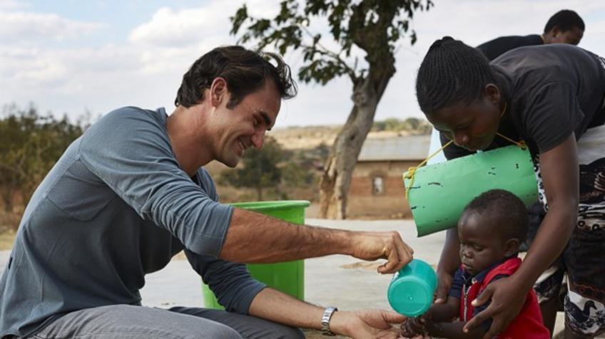 Même les adultes ne savent pas qui est Roger Federer dans certaines régions du monde. Afrique: initié