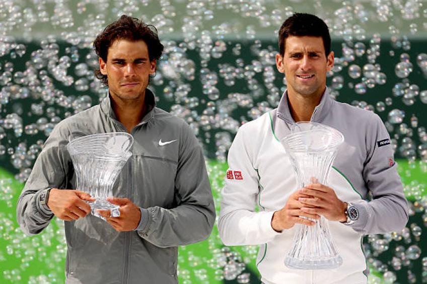 Le joueur de l'ATP dévoile le plus gros joueur de Rafael Nadal et Novak Djokovic forces