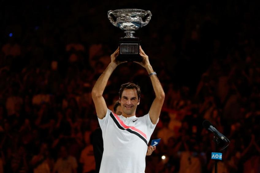 Révision 2018: Roger Federer gagne la gloire Melbourne