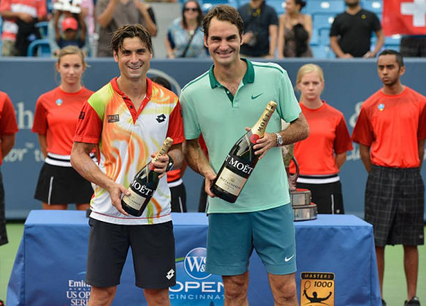 J'étais plus ambitieux grâce à Roger Federer, Rafa Nadal, Djokovic: Ferrer