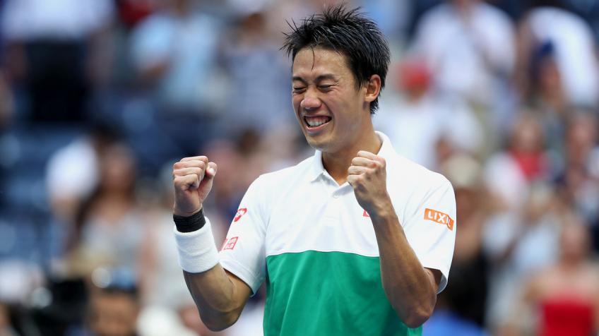 Kei Nishikori remporte le titre de joueur de l'année par JTA 2018 prix