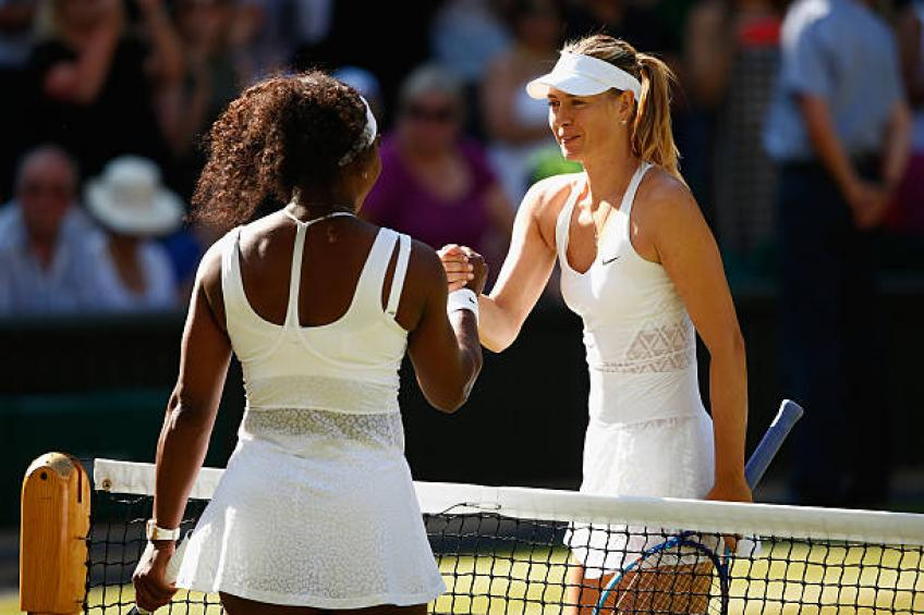 Serena Williams explique ses similitudes avec Maria Sharapova